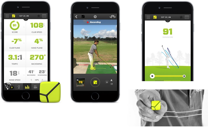 les applications du ZEPP GOLF