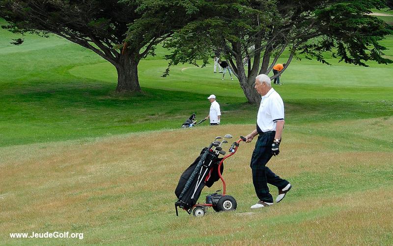 golfeur senior