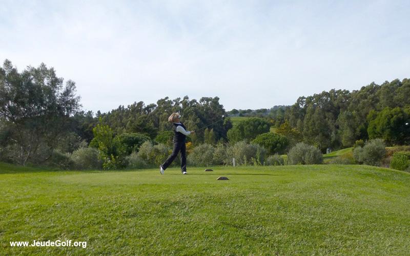 jouer au golf, bon pour la santé