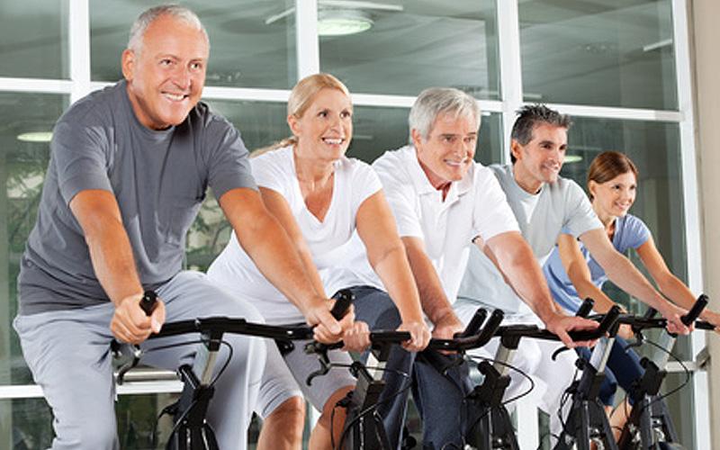 exercices en salle de sport