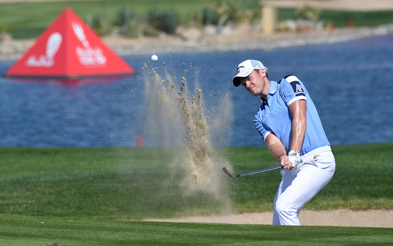 Danny Willett. Crédit photo Getty Images, Abu Dhabi Sports Council