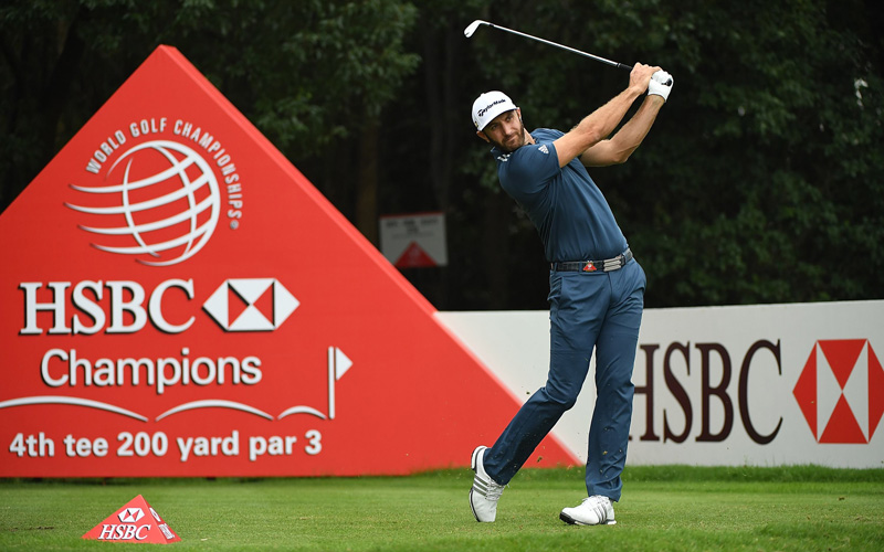 Dustin Johnson. Crédit photo Getty Images, Abu Dhabi Sports Council