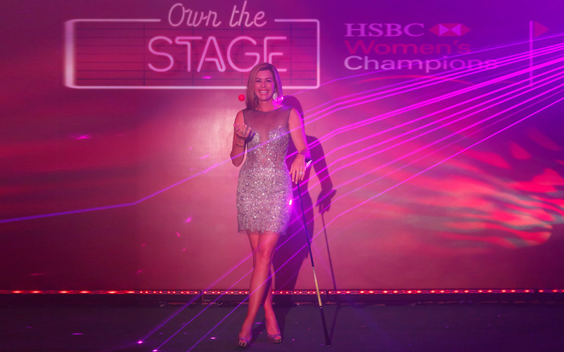 Paola Creamer, crédit photo : HSBC Women's Champions 2017