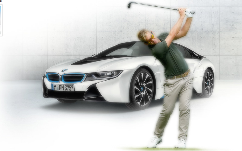 James Heath, Crédit photo Bmw-golfsport