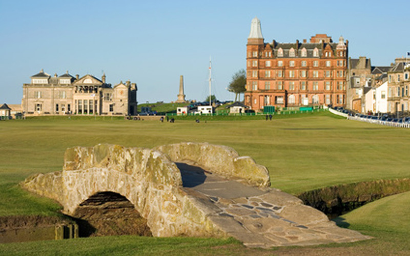 Old Course à St. Andrews, Écosse