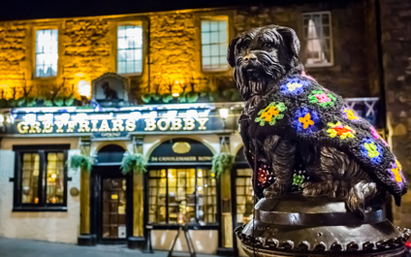 Pub Greyfriars à Edinburgh en Écosse