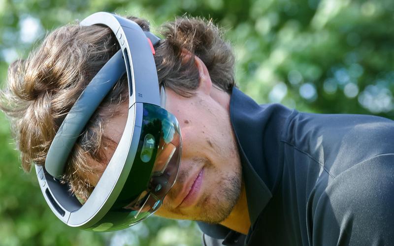 PuttView, le putting en réalité augmentée. Le golfeur de demain sera t'il bionique ?