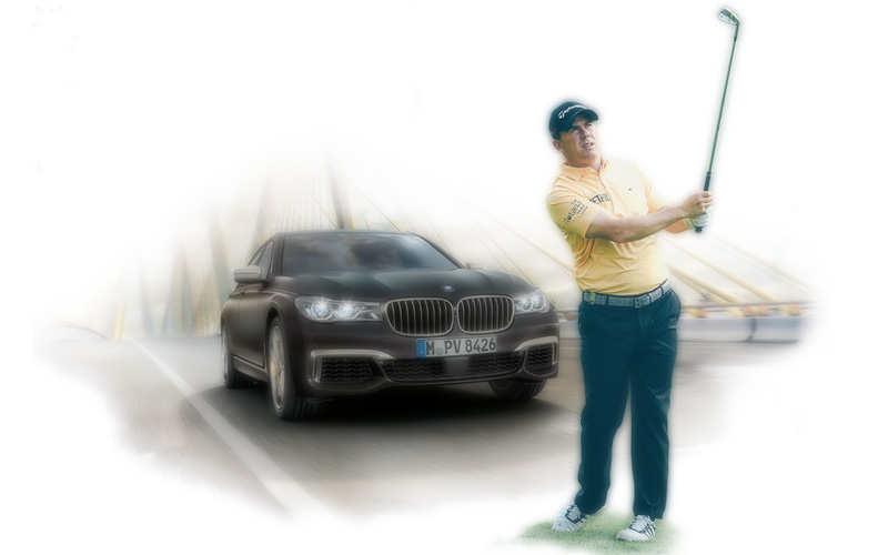 Richie Ramsay, Crédit photo Bmw-golfsport