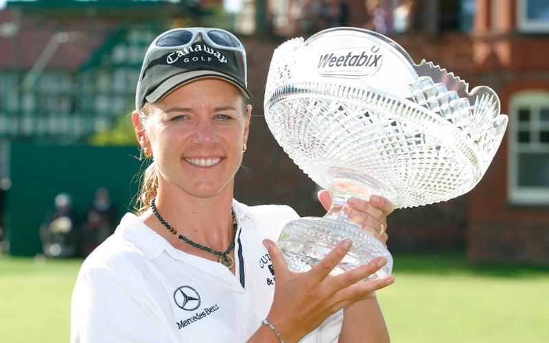 Annika Sorenstam, une légende du golf féminin - Crédit photo : Mark Newcombe