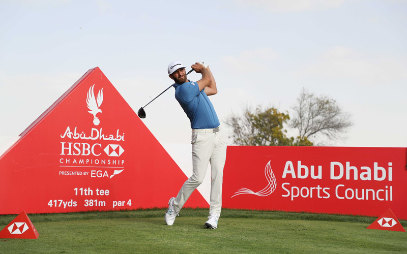 Crédit photo : Abu Dhabi HSBC Championship - EGA