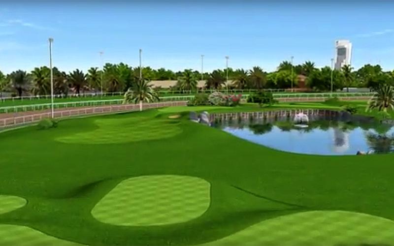 Photo golf d'Abu Dhabi City