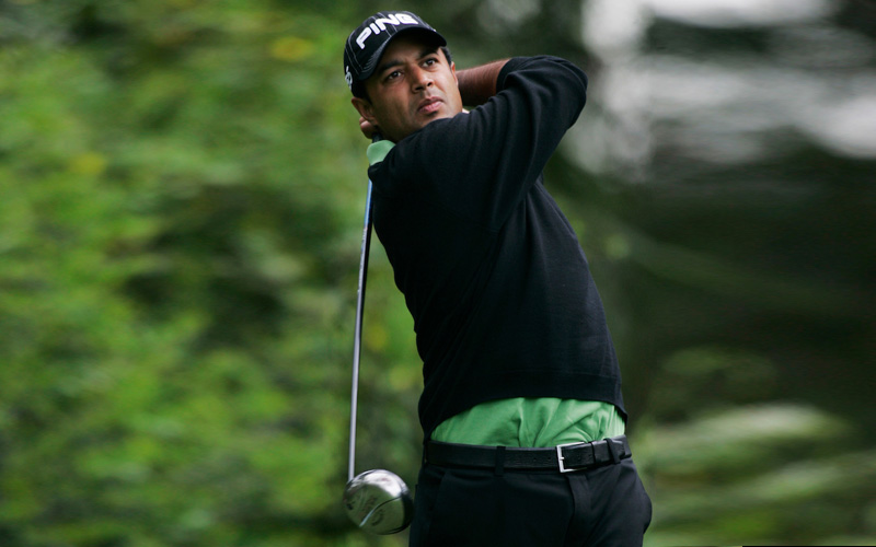 Arjun Atwal - Photo Mark Newcombe, visionsingolf