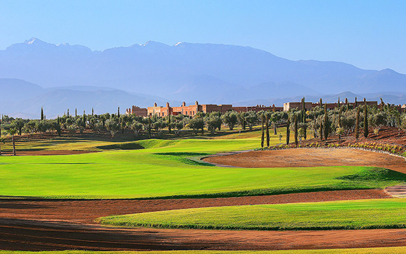 Credit photo : PalmGolf Marrakech-Ourika