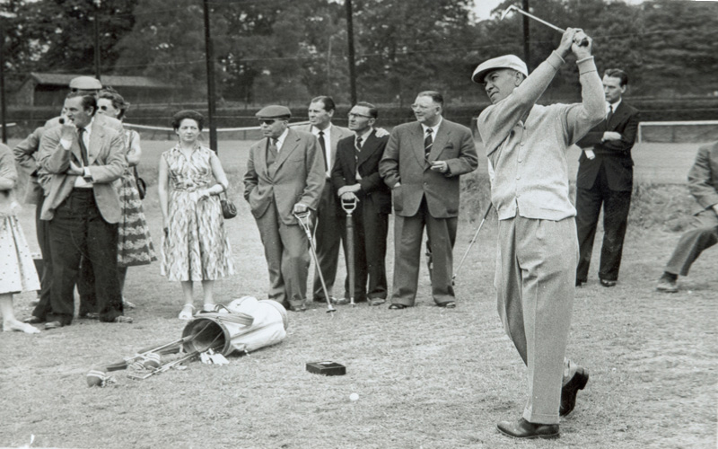 Ben Hogan. Photo Mark Newcombe