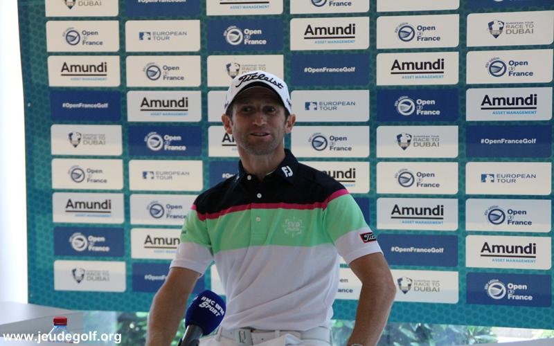 Conférence de presse Open de France 2016, Grégory Bourdy