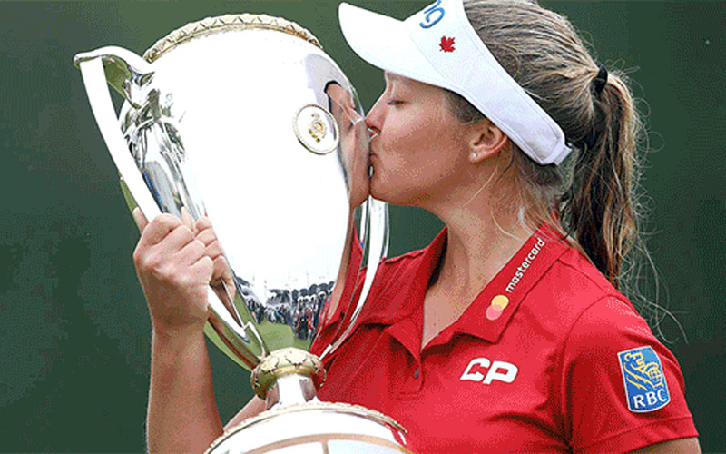 Brooke Henderson. Crédit photo LPGA