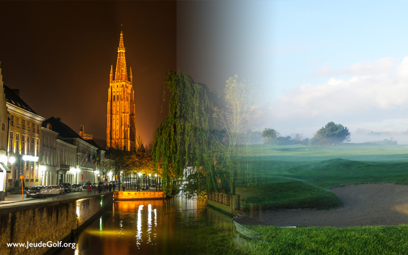 Jouer au golf en Belgique, depuis Bruges la Venise du Nord