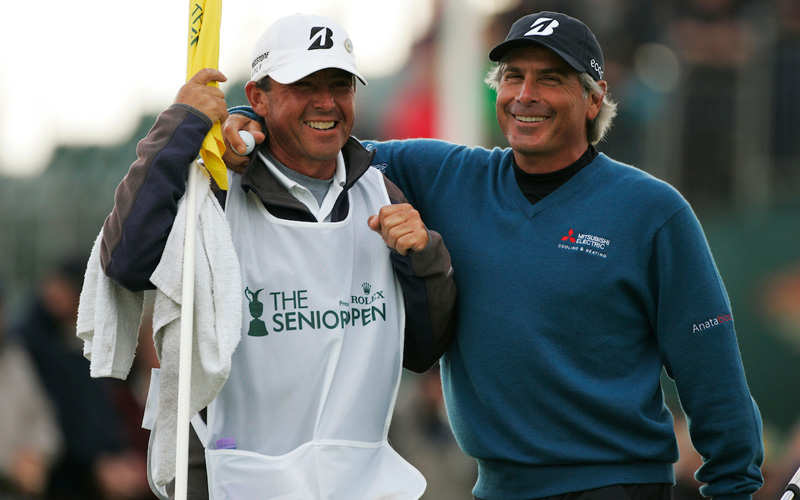Fred Couples au Seniors Open 2012 à Turnberry- Crédit photo : Mark Newcombe / visionsingolf