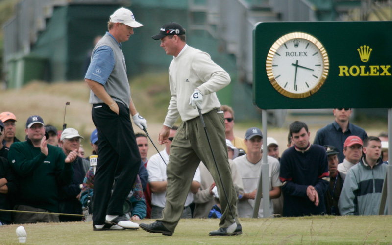 Todd Hamilton vainqueur du British Open 2004. Photo Mark Newcombe - visioningolf