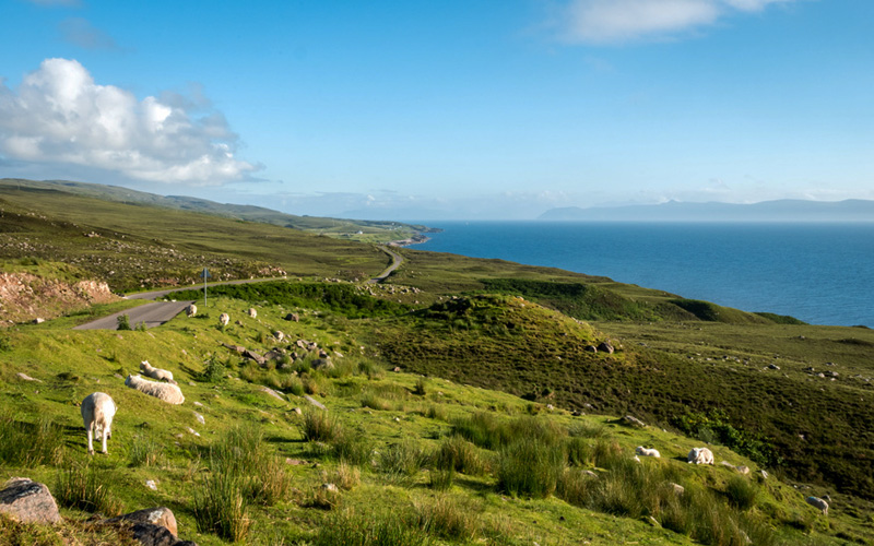 Highlands, North Coast 500 - Crédit photo : Fotolia