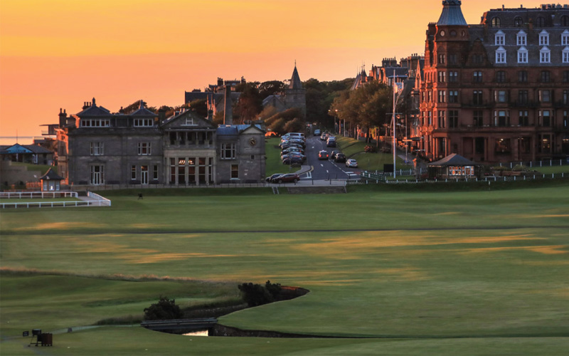 Photo : The Old Course à St. Andrews