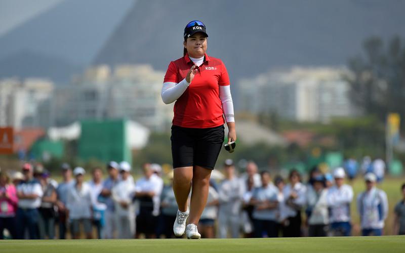 Jeux Olympiques féminins à Rio, Inbee Park médaille d'or
