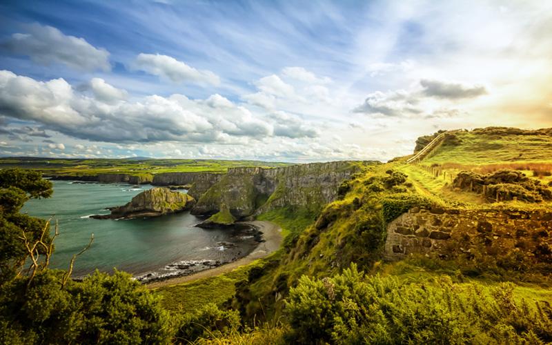 L'Irlande du Nord : parcours de classe mondiale pour golfeurs de classe mondiale