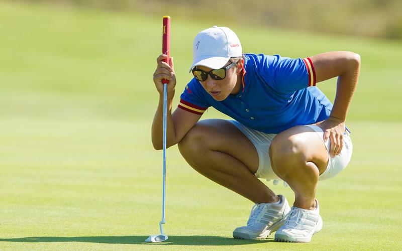 Carlota Ciganda, premier tour des Jeux Olympiques de Rio en 2016
