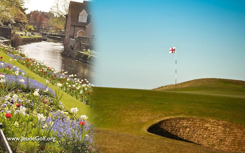 Le Kent, c'est « le jardin d'Angleterre » pour les touristes, mais encore plus pour les golfeurs…