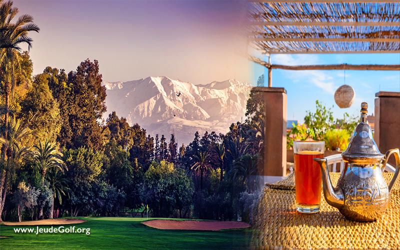 Marrakech, une destination pour jouer avec plaisir au golf, en été comme en hiver