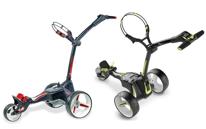 Avec la nouvelle M Series, Motocaddy étend sa gamme de chariots compacts électriques