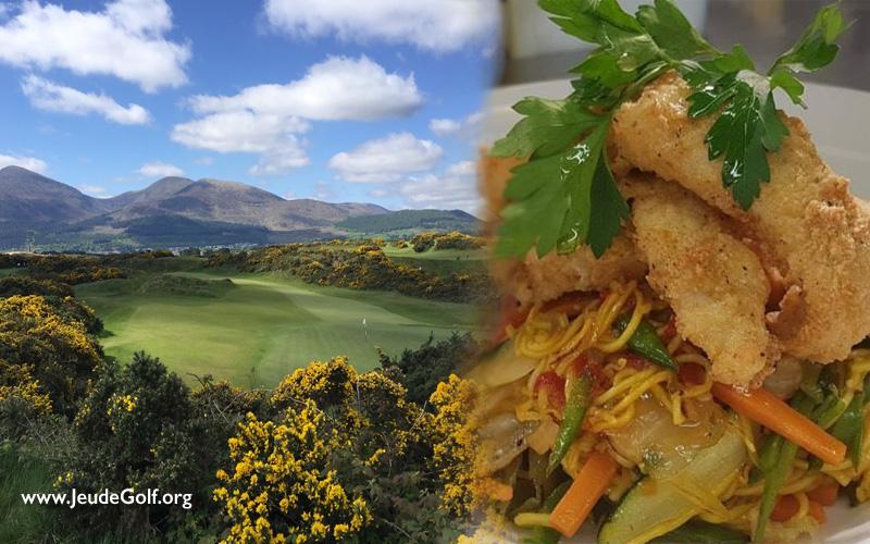 Découvrez les plaisirs du golf et de la gastronomie de l'Irlande du Nord