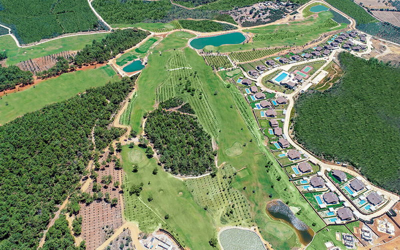 Crédit photo : Regnum Golf and Country Club Bodrum