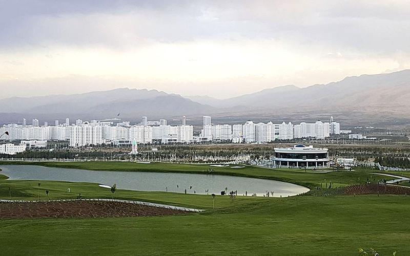 Crédit photo : Ashgabat Golf Club