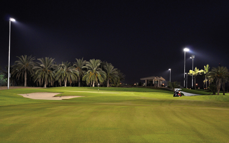 Crédit photo : Abu Dhabi Golf Club