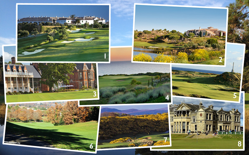 Les 8 meilleurs resorts de golf