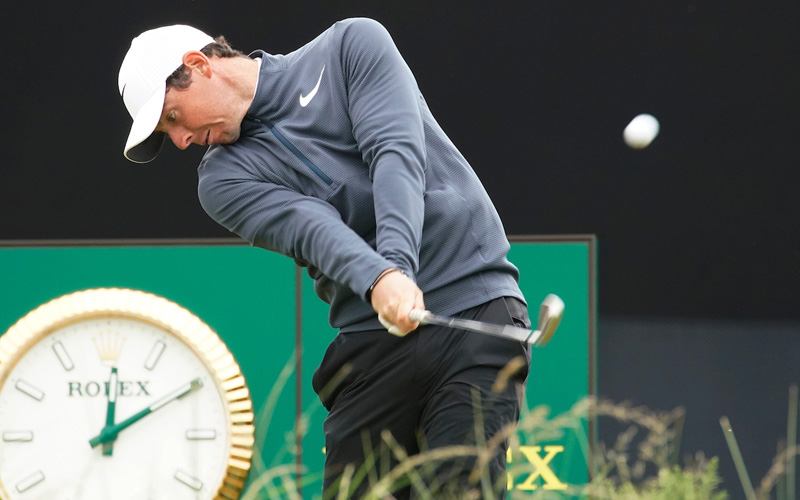 Rory McIlroy. Photo Mark Newcombe - visionsingolf.com