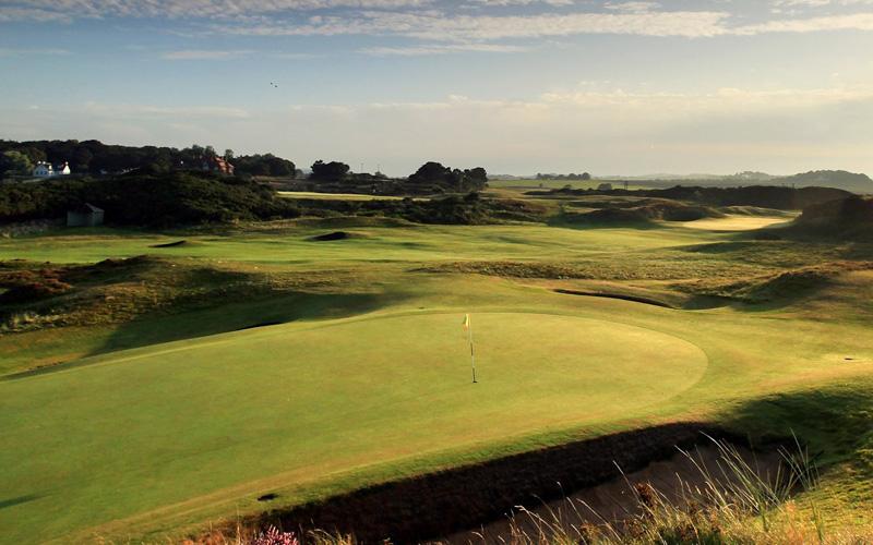 Parcours du Royal Troon Golf Club à Ayrshire
