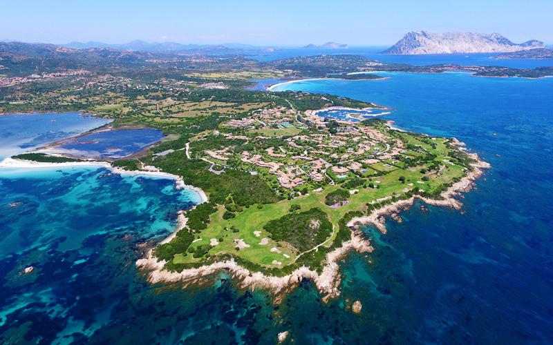 La Sardaigne : des parcours de golf inimitables, et praticables en toutes saisons
