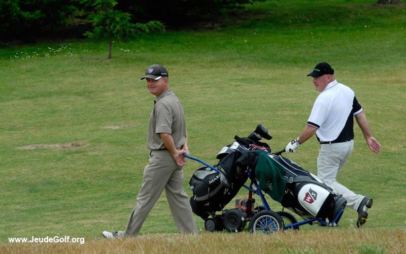 Les seniors sont les plus nombreux sur les parcours de golf