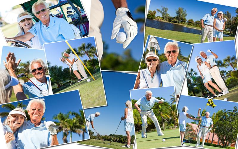 Golfeurs seniors - Fotolia