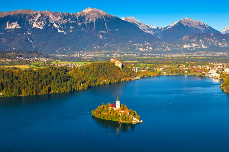 Slovénie, lac Bled - Fotolia