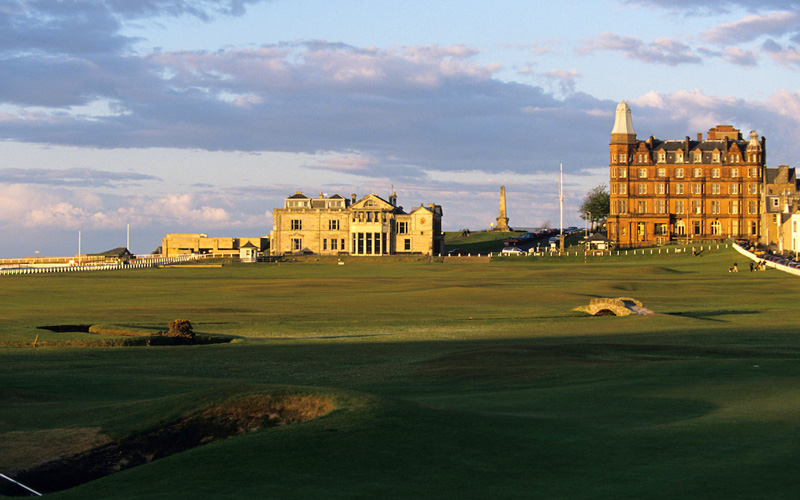 The Old Course à St. Andrews. Crédit photo : Mark Newcombe
