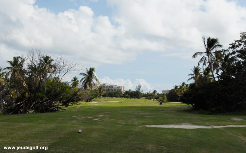 Le golf de Mullet Bay à Saint Martin
