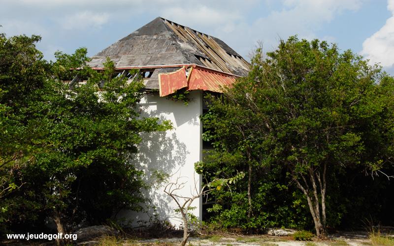 Ruines sur le parcours de Mullet Bay Golf Course