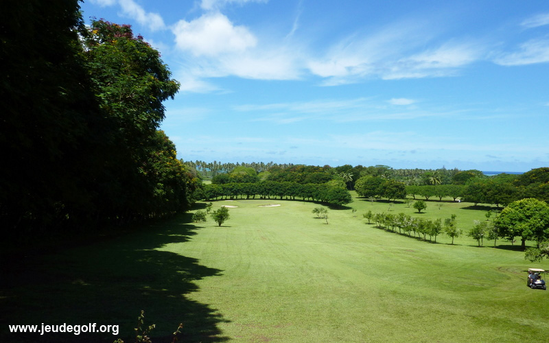 golf d'Atimaono à Tahiti 1