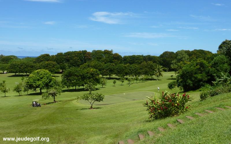 golf d'Atimaono à Tahiti 2