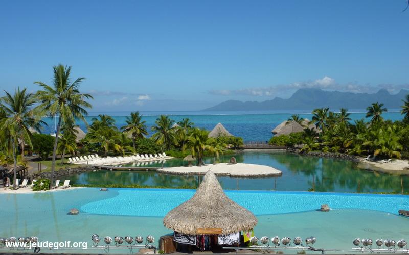 Tahiti Moorea piscine