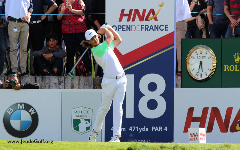Photo JeudeGolf.org : Tommy Fleetwood Open de France 2017