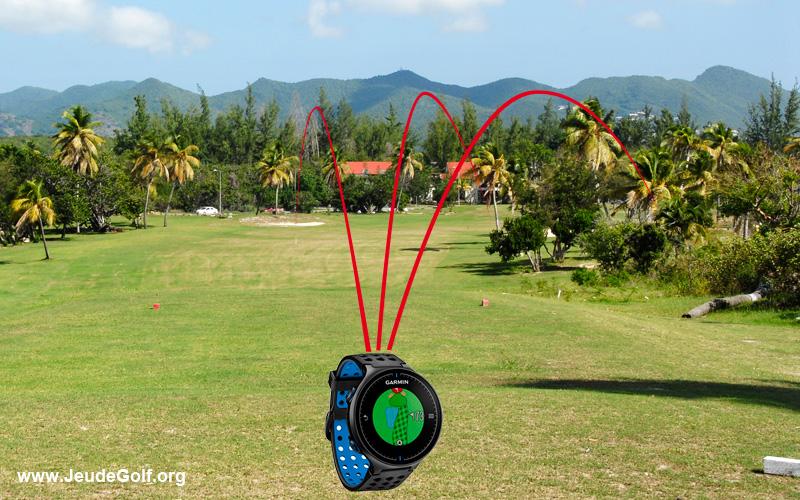 montres GPS de golf et mesure des distances